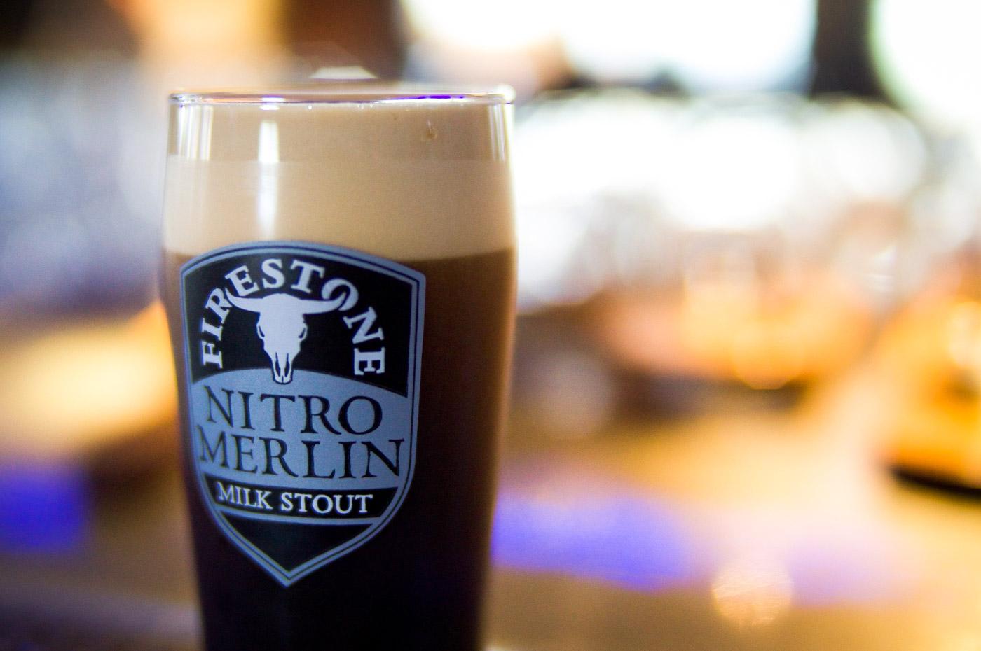 Cerveza Firestone Nitro