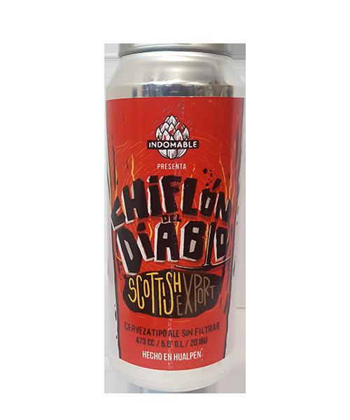 Cerveza Artesanal Indomable El chiflón del Diablo