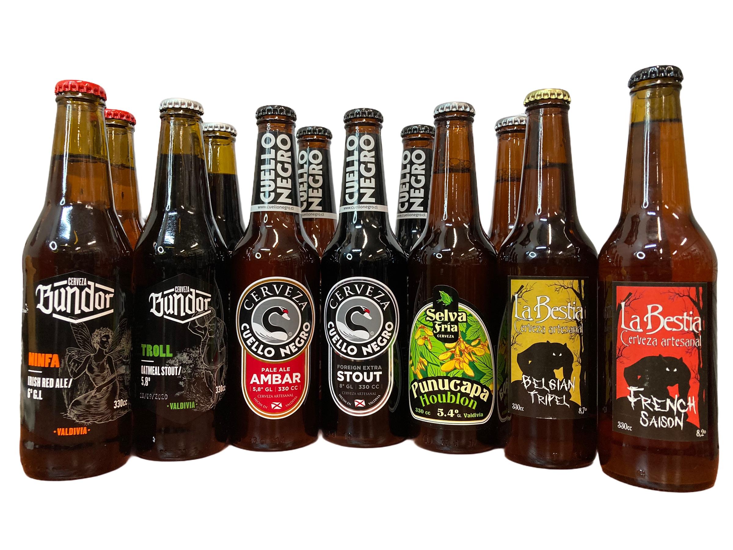 Cervezas Artesanales Valdivianas