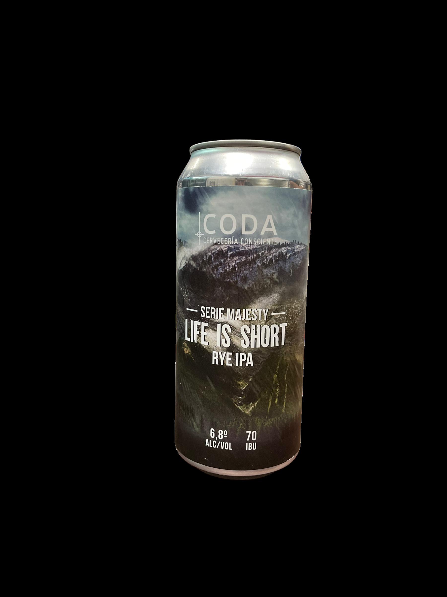 cerveza artesanal Rye IPA de Coda